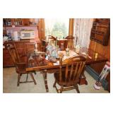 Trestle Table With Chairs