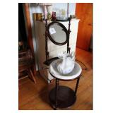 Wash Stand With Pitcher & Bowl