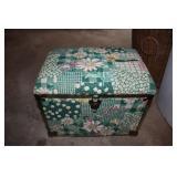 Vintage Sewing Box w/Goods