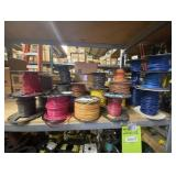 Spools and Spools of ELectrical Wire