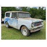 1960s International Scout 800 4x4 RH Drive