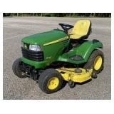 2009 John Deere X720 Ultimate Lawn Tractor