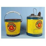 Browder 76 Lubricants 5 Gal. Can & 25 Lbs. Bucket