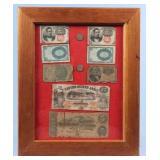 Group Civil War Era Fractional Currency & Script