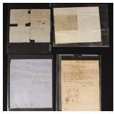 Group of Civil War Correspondents & Orders