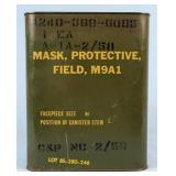 M9A1 Field Protective Mask In Original Sealed Can
