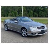 2005 Mercedes-Benz CLK 500 Convertible 90,600 Mile