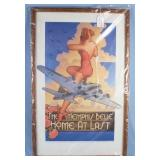 """The Memphis Belle """"Home At Last"""" 1987 Poster"""