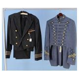 Navy Commander Uniform & West Point Cadet Uniform