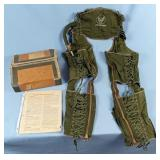 """WWII USAAF G3A Pneumatic Anti """"G"""" Suit"""