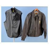 Hunting Club Flight Jacket & Browning Vest
