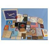 WWI German Uniforms Cigarette Card Album, Etc.