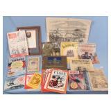 Group of Books, Magazines, Sheet Music, Etc.
