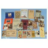 School Books, Catalogs, Advertisements, Etc