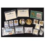 Group of Commemorative Replica Coins,American Mint