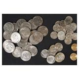 50 Eisenhower, Anthony, Sacagawea, & Kennedy Coins