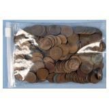U.S. Lincoln Wheatback Pennies, $2.28 Face Value