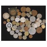 Foreign Coins of Various Countries, Tokens, Etc.