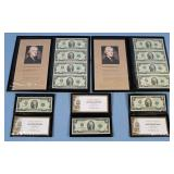 11 Series 2003 Uncirculated $2 US Notes