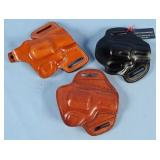 Two Galco G719T & Similar Import Holsters
