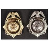 Two TN Commercial Vehicle Enforcement Badge