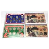 4 Assorted US Coin Sets