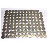 107 - 1976 Kennedy Bicentennial Half Dollar Coins