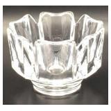 Vintage Orrefors Sweden Crystal Corona Bowl