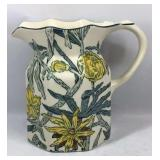Tiffany and Co. Yellow Flowers Pitcher