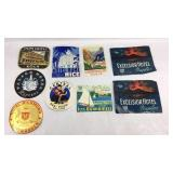 Vintage Travel and Hotel Stickers