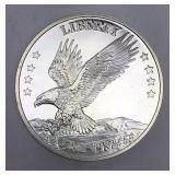 200th Anniversary American Eagle Silver Round