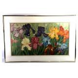 Iris by Wong Ying Watercolor