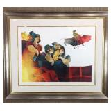Flamingo Dancers and The Bullfighter by Alvar