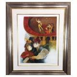 Flamingo Dancers and Bullfighters by Alvar