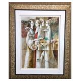 Four Sisters by Georges Braque S/N Lithograph