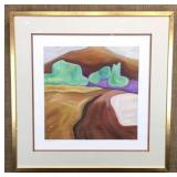 Rolling Hills by Chenin Lithograph