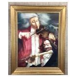 Violin Players by C. Vidaurre