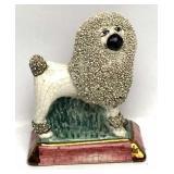 Antique Staffordshire Dog Figurine