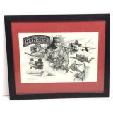Abel Reynosa 1996 Ranger Lithograph