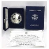2003-W American Eagle Silver Dollar Proof Coin