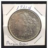 1921-D Morgan Dollar Coin
