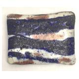 Modern Arts and Crafts Ceramic Brooch