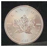 2019 Canada 5 Dollar Maple Leaf Coin