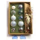 14 Glass Ornaments