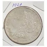 1921 Morgan $1 Dollar Coin