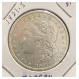 1921-S Morgan $1 Coin