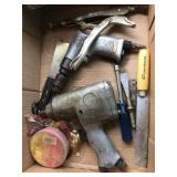 2 Air Tools and Vice Grip