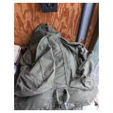 Military Backpack With 4 Smaller Bags Inside