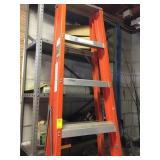 Tall Orange Ladder Type 1A