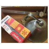 Bell, Box of Zip Ties Precision Dail Caliper